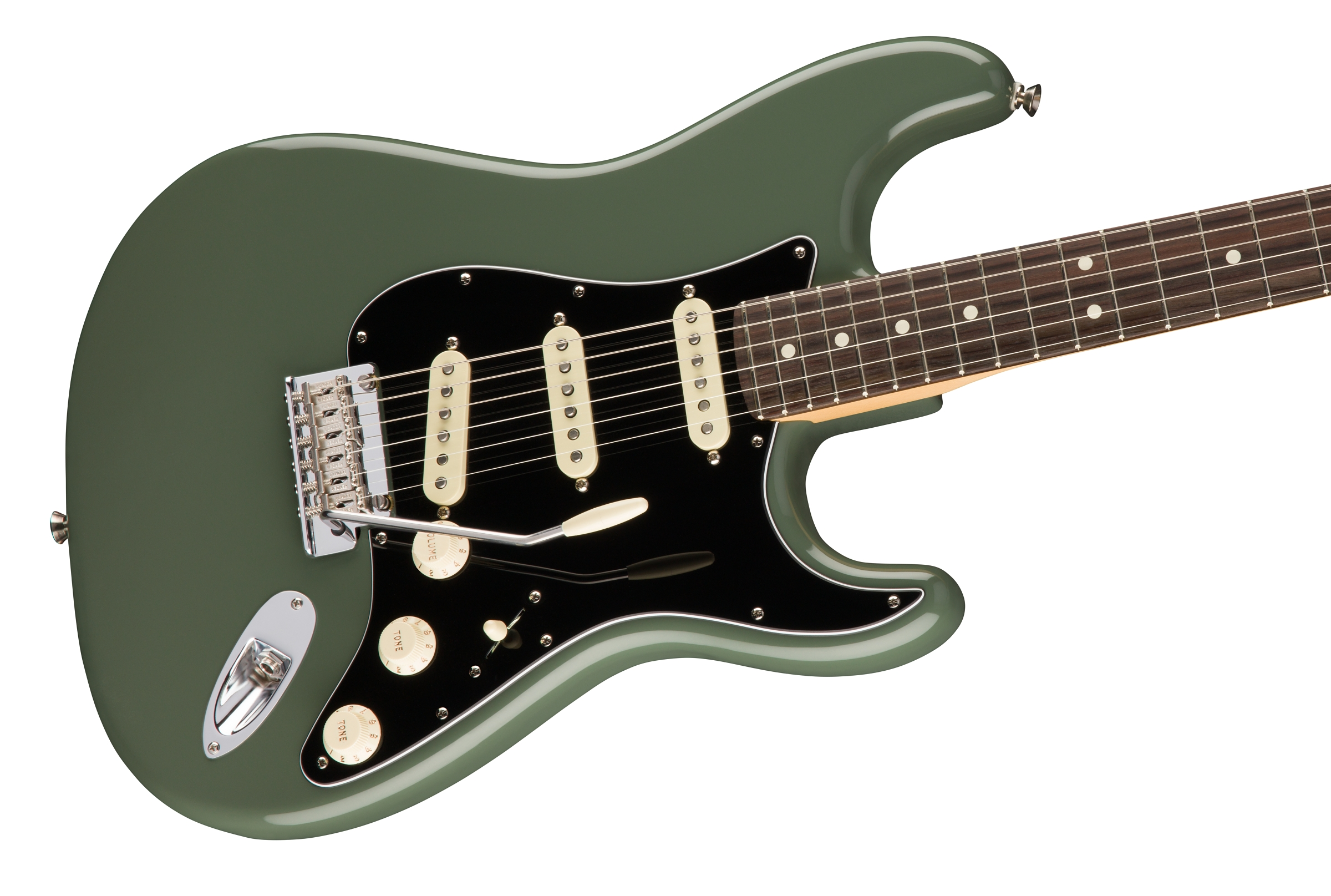 0113010776_gtr_cntbdyright_001_nr fender american pro stratocaster�, rosewood fingerboard, antique olive Telecaster 3-Way Switch Wiring Diagram at crackthecode.co