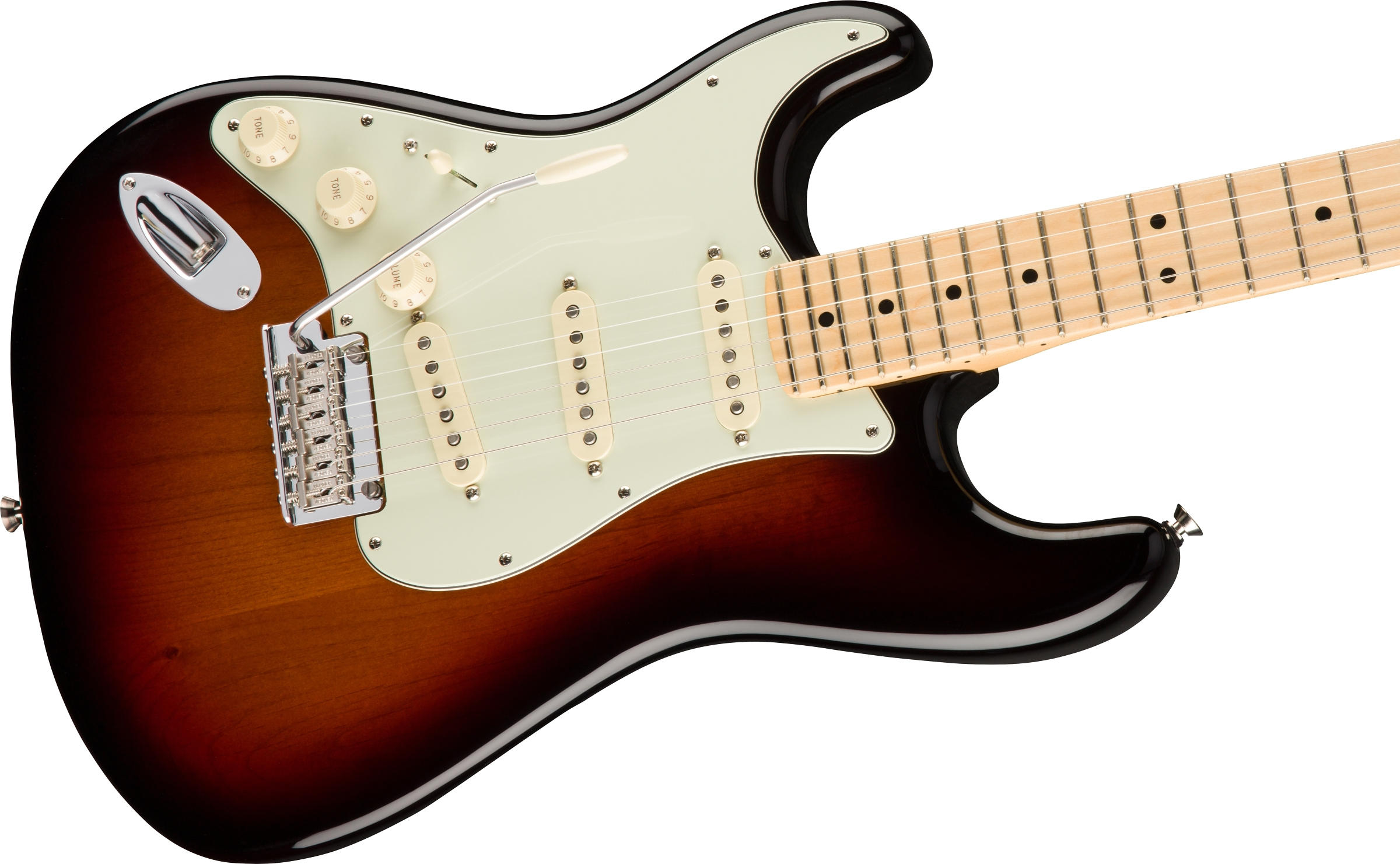 American Professional Stratocaster Left Hand Electric Guitars