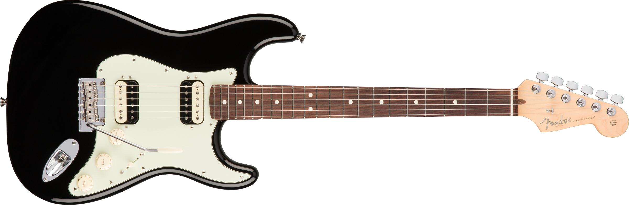 american professional stratocaster hh shawbucker electric guitars. Black Bedroom Furniture Sets. Home Design Ideas