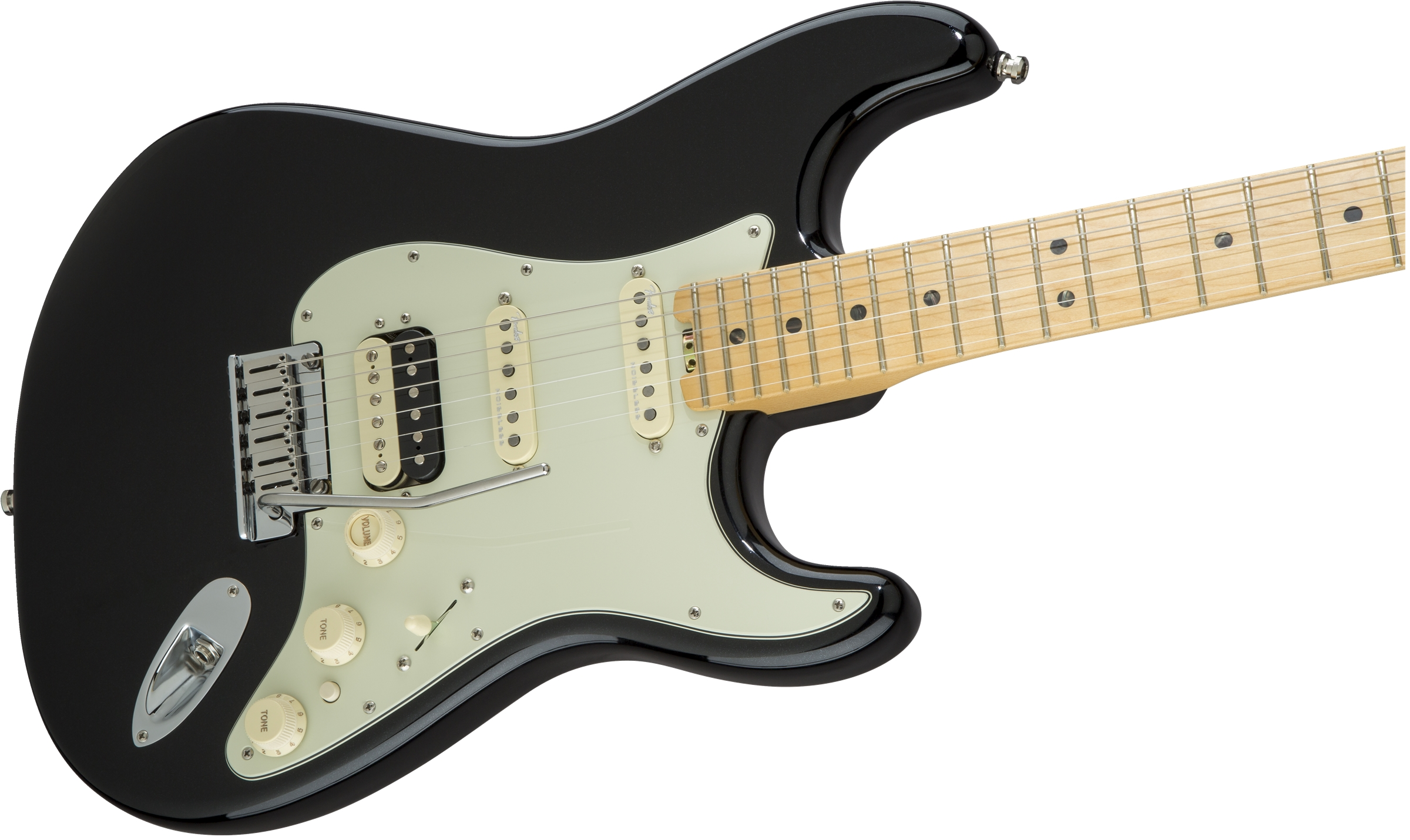 american elite stratocaster maple mystic black