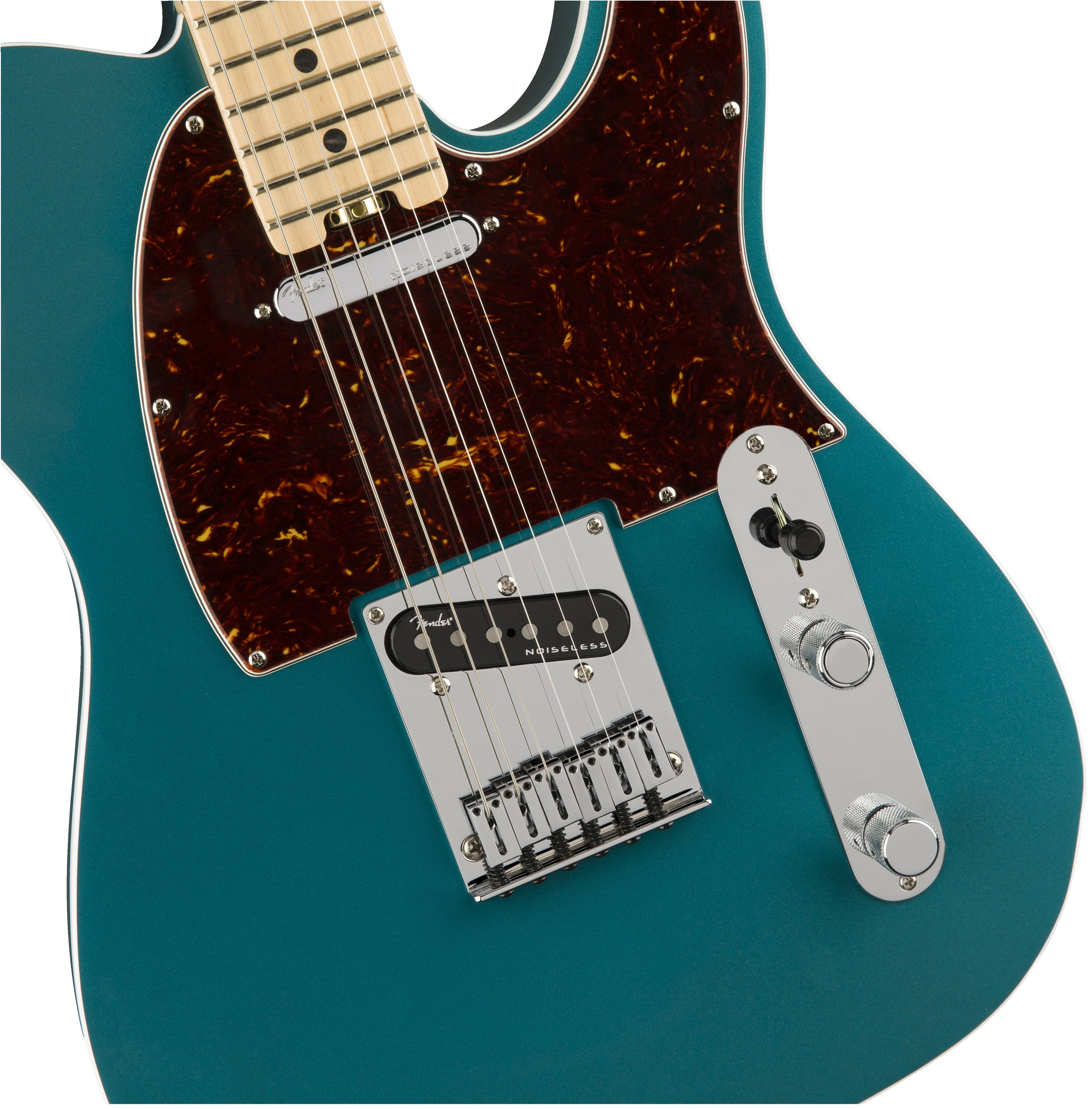 Fender American Elite Telecaster®, Maple Fingerboard, Ocean Turquoise