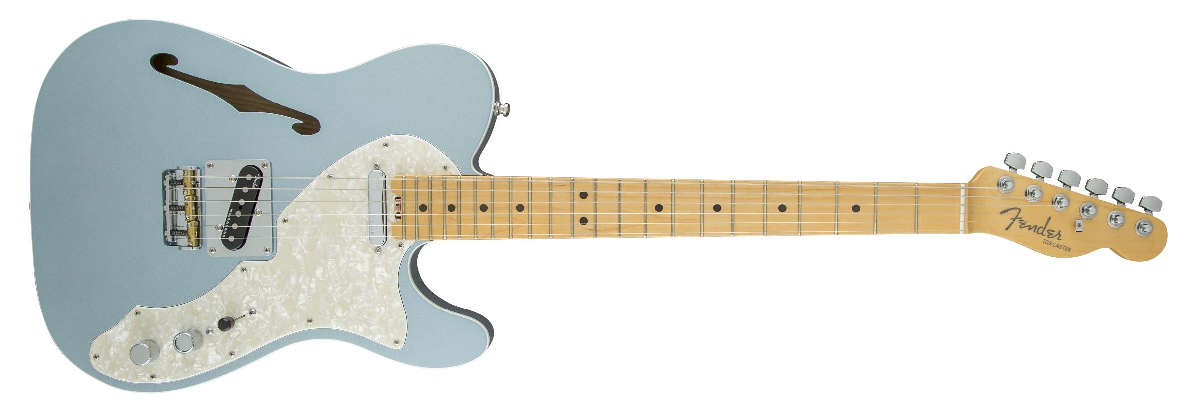 Fender american eilte telecaster thinline maple fingerboard american elite telecaster thinline mystic ice blue publicscrutiny Gallery