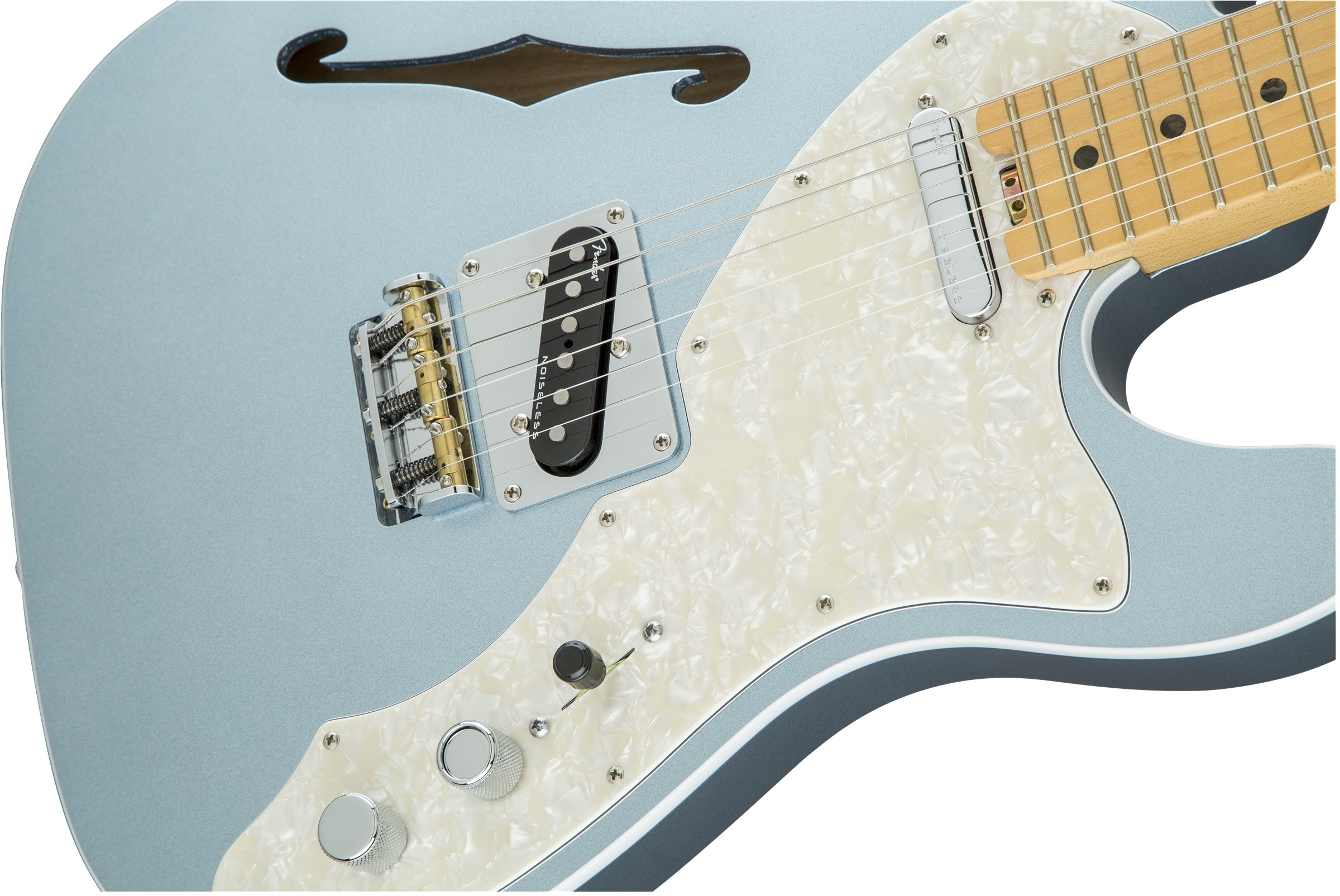 Fender American Eilte Telecaster® Thinline, Maple Fingerboard ...