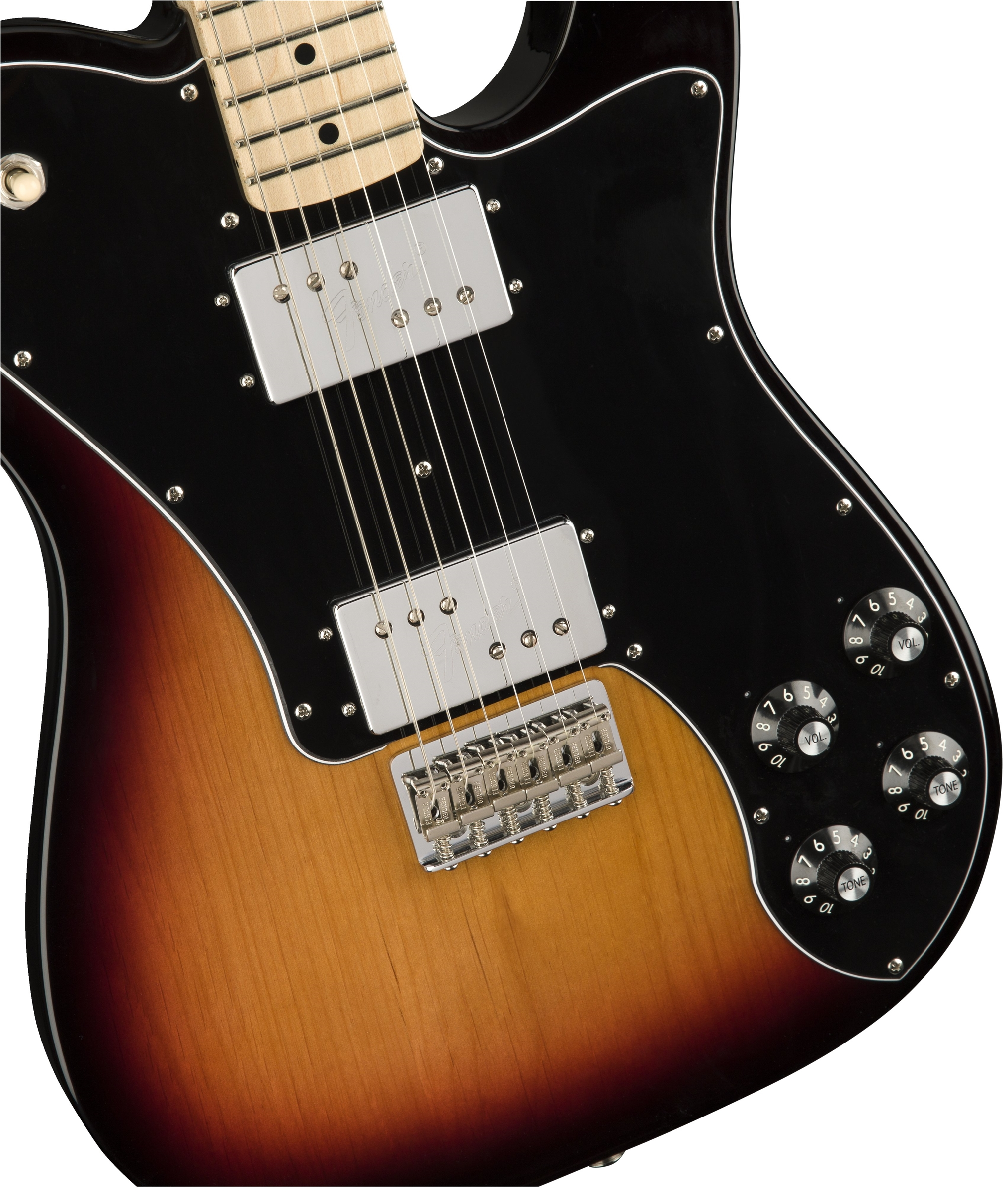 Classic Series 72 Telecaster Deluxe Electric Guitars Fender Wide Range Humbucker Wiring Diagram Tap To Expand