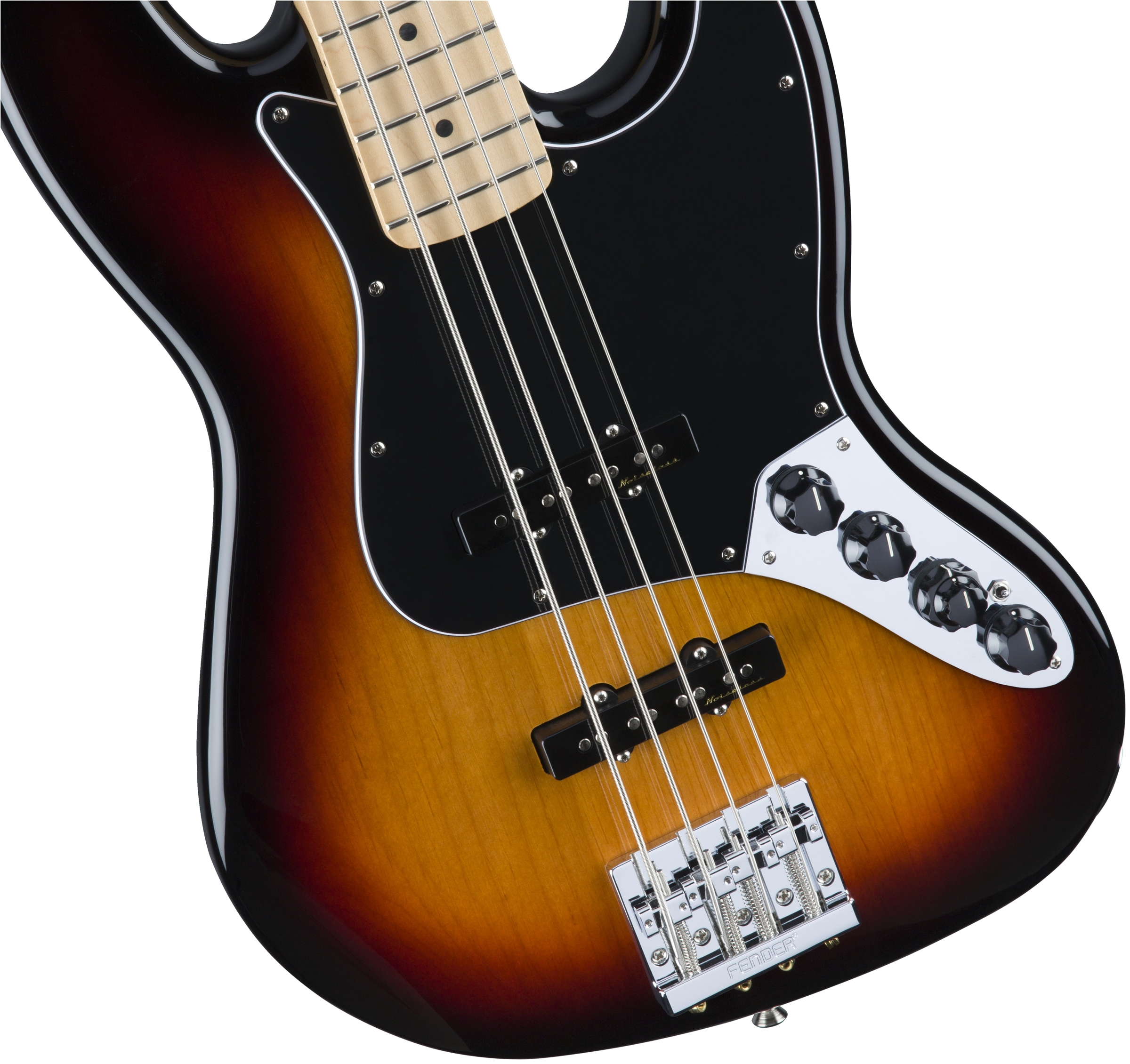 Fender Deluxe Active Jazz Bass®, Maple Fingerboard, 3 Color Sunburst