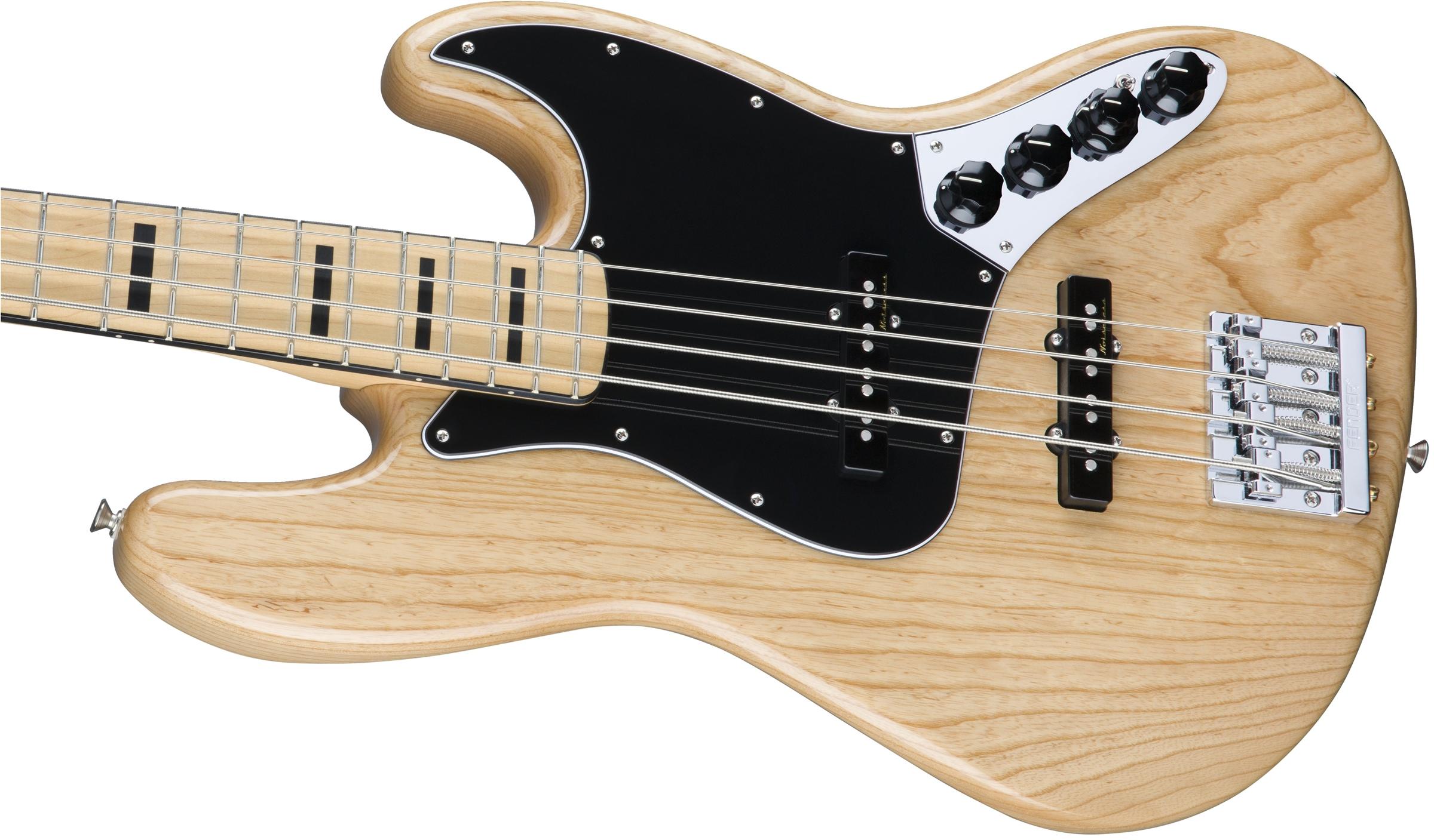 Fender Deluxe Active Jazz Bass®, Ash, Maple Fingerboard