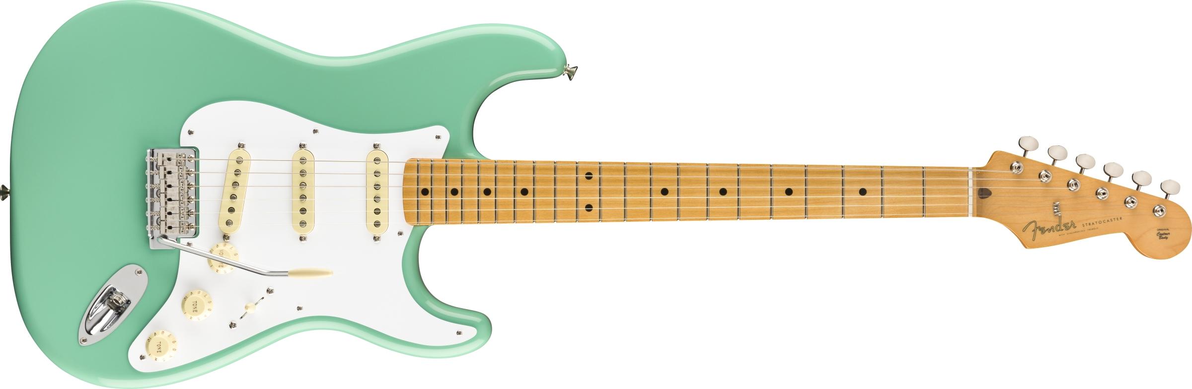 Fender 50/'s Style Stratocaster Strat Maple Fingerboard Soft V Shape Guitar Neck