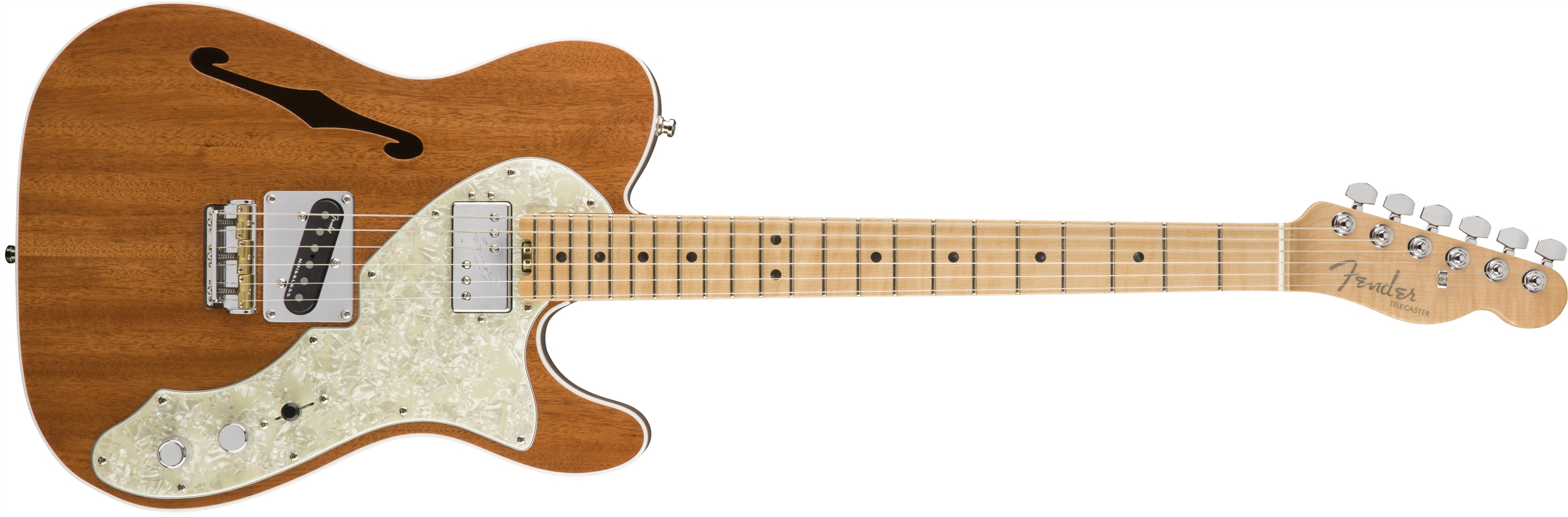 0175103721_gtr_frt_001_rr fender 2017 limited edition american elite mahogany tele� thinline  at gsmportal.co