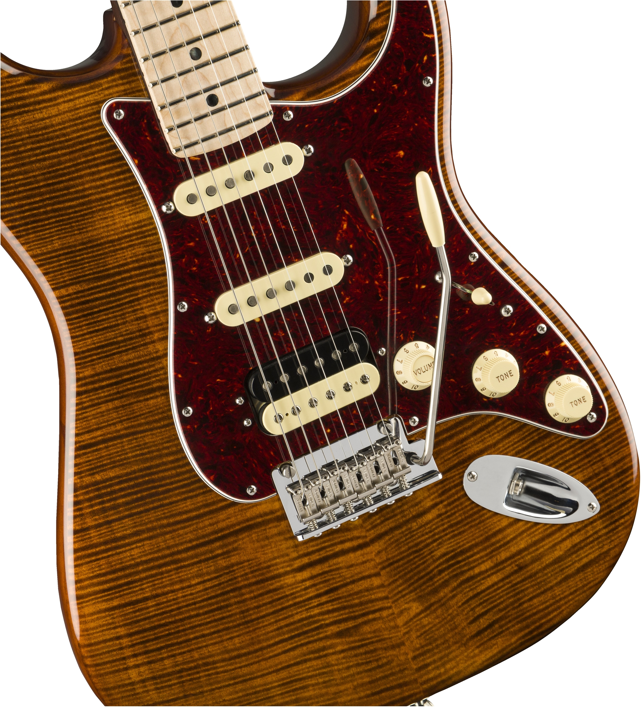 Rarities Flame Maple Top Stratocaster® | Electric Guitars