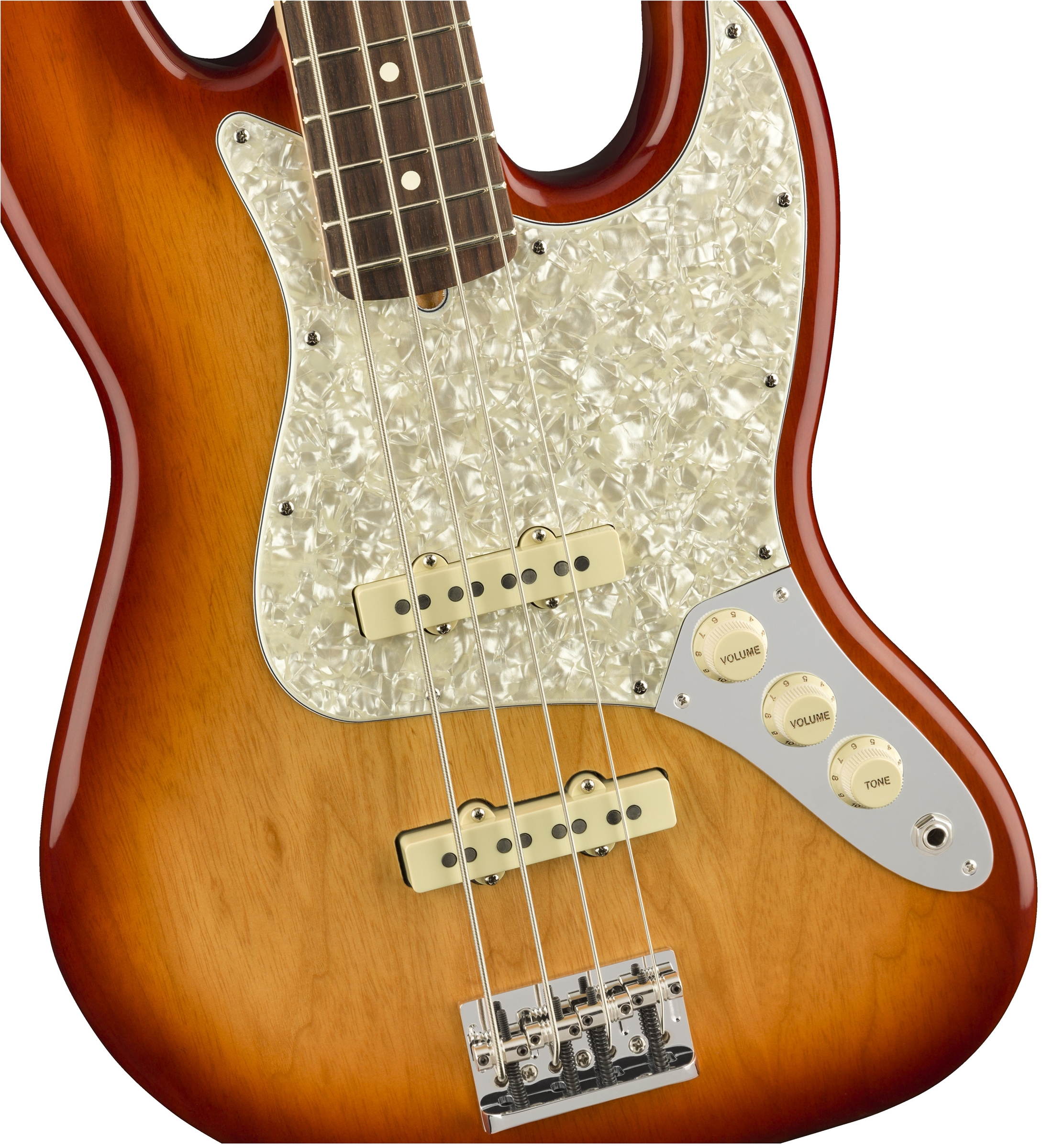 Limited Edition Lightweight Ash American Professional Jazz Bass