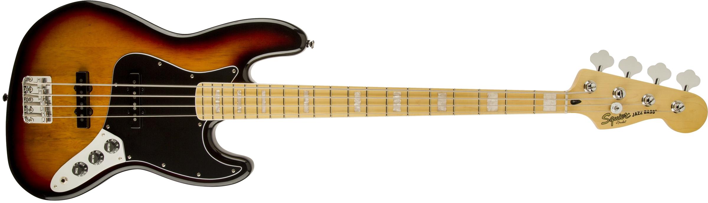 Vintage modificado squier jazz bass