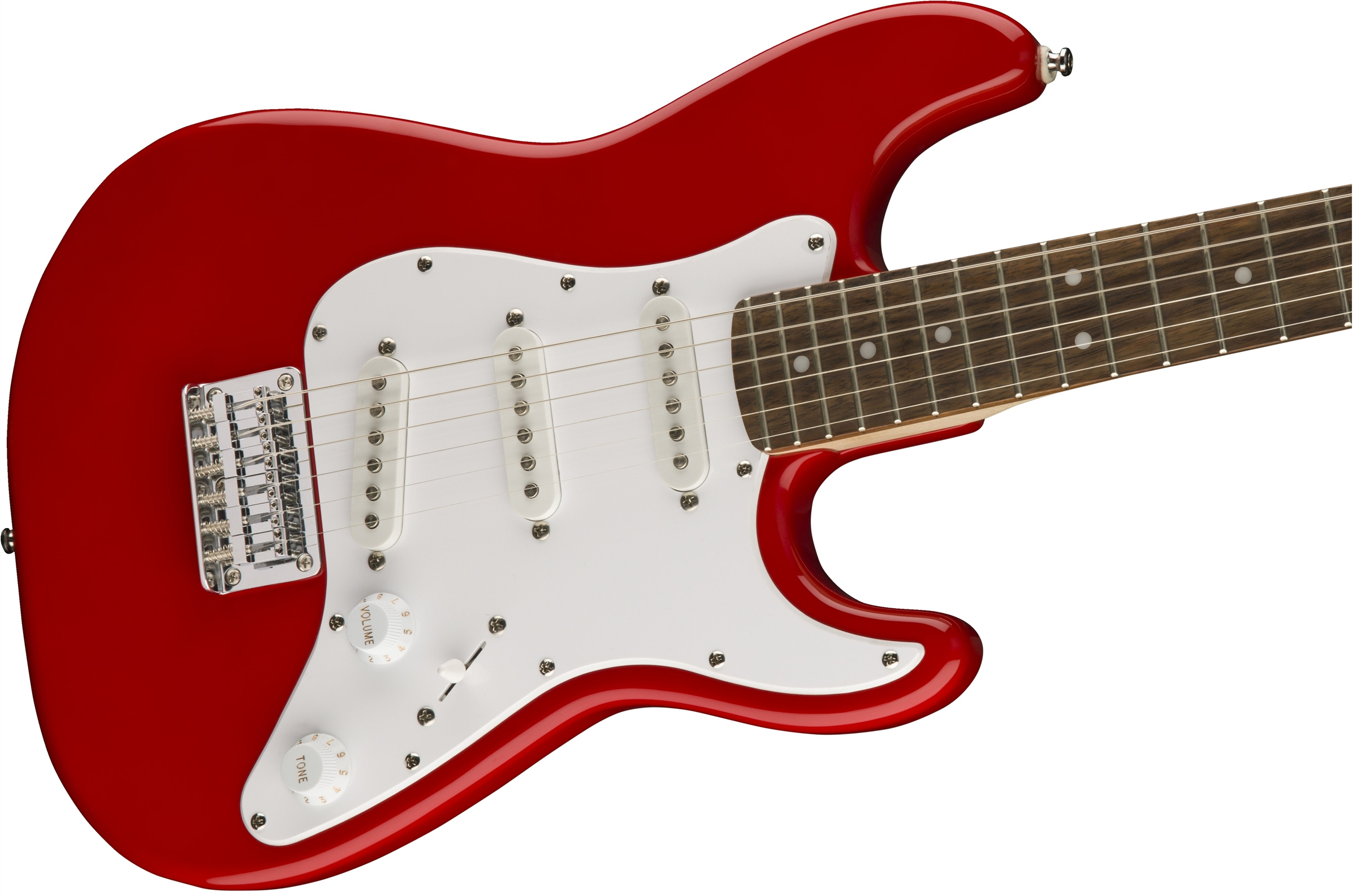 Squier Mini Strat®, Rosewood Fingerboard, Torino Red