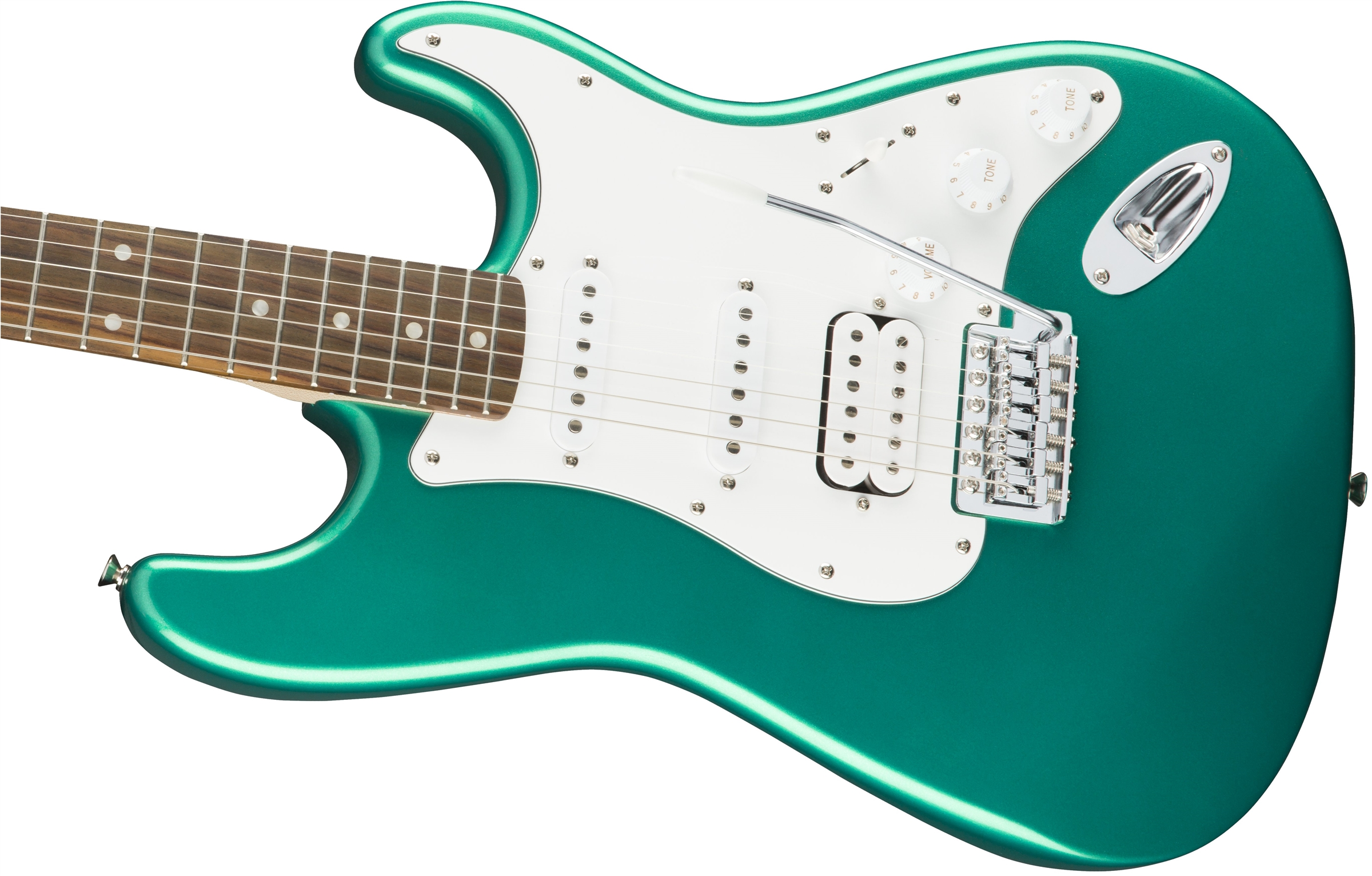 Squier Affinity Series™ Stratocaster® HSS, Race Green