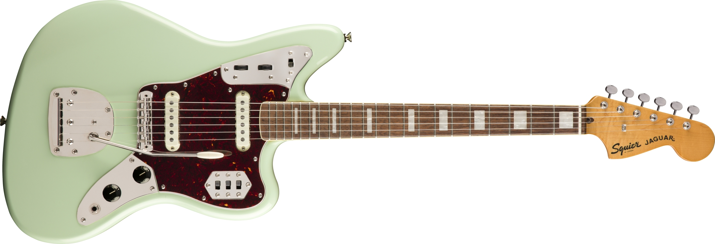 classic vibe 39 70s jaguar squier electric guitars. Black Bedroom Furniture Sets. Home Design Ideas