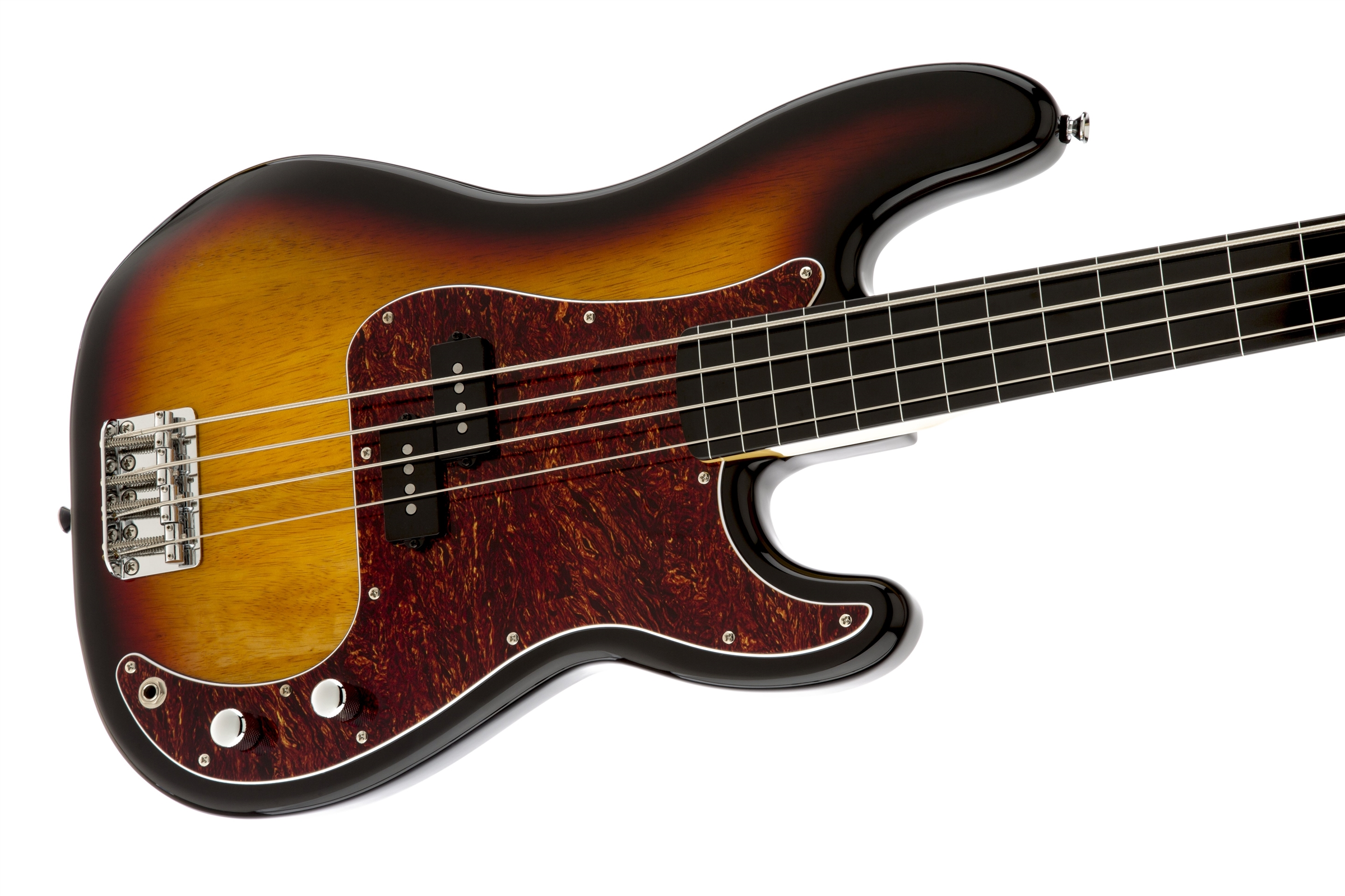 vintage modified precision bass fretless squier electric basses. Black Bedroom Furniture Sets. Home Design Ideas