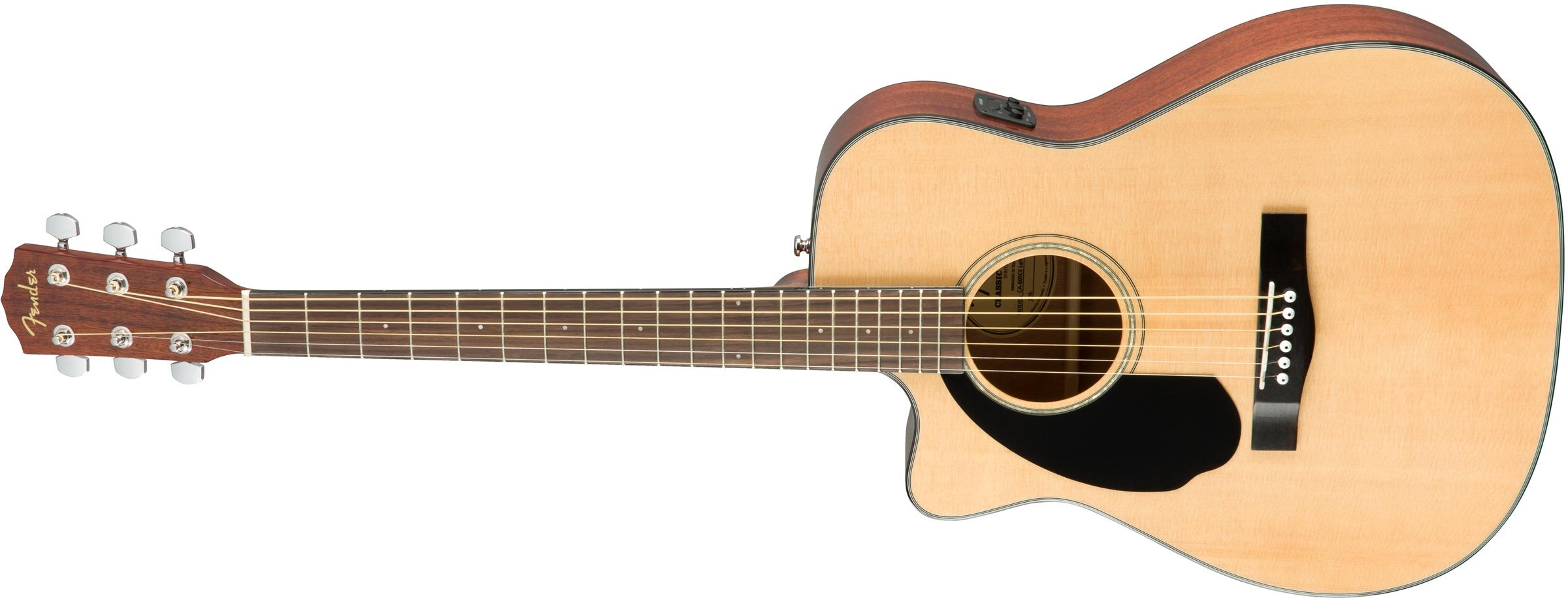 Guitars & Basses Authorized Dealer Fender Cc-60sce Natural