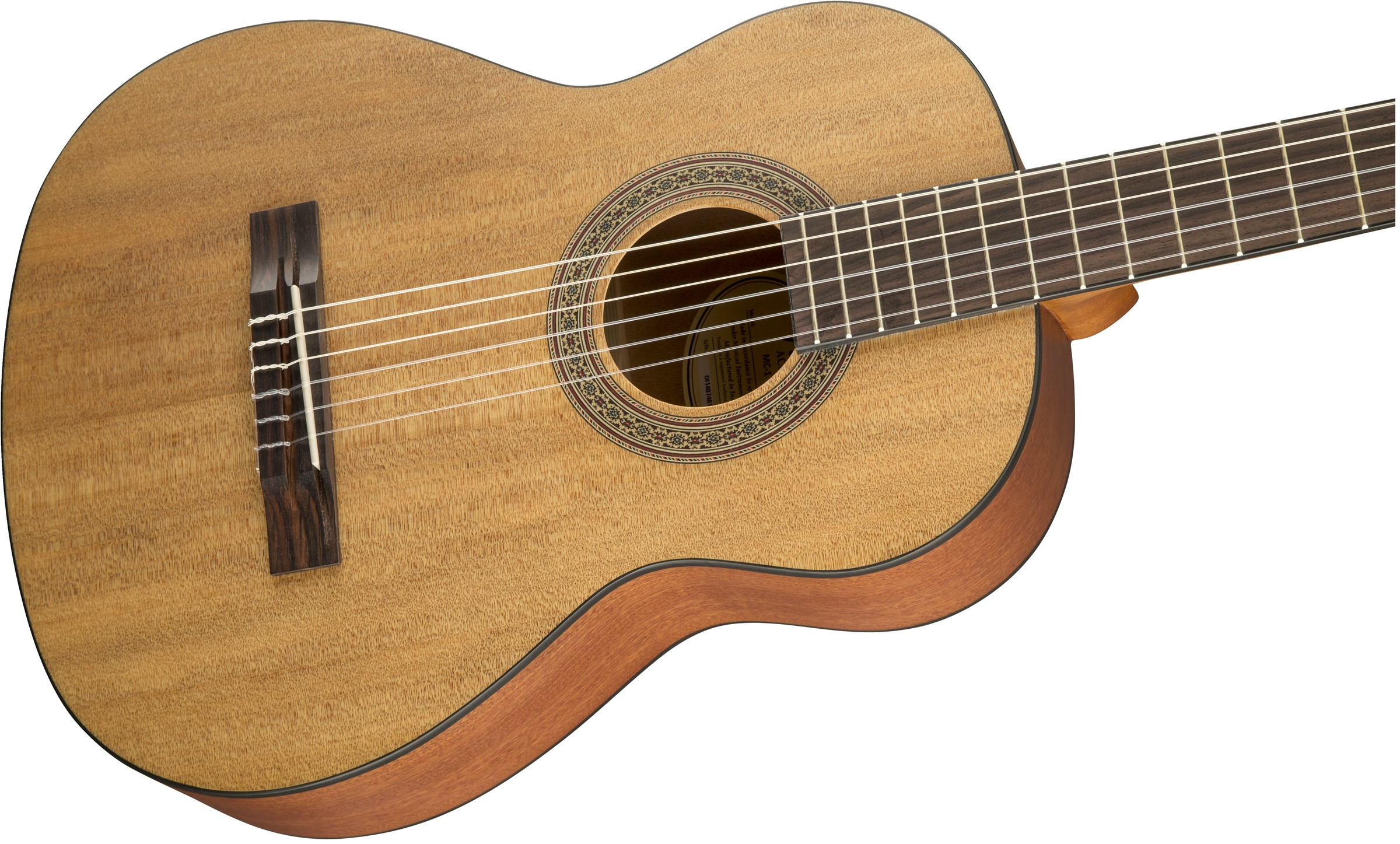 mc 1 3 4 nylon acoustic guitars. Black Bedroom Furniture Sets. Home Design Ideas