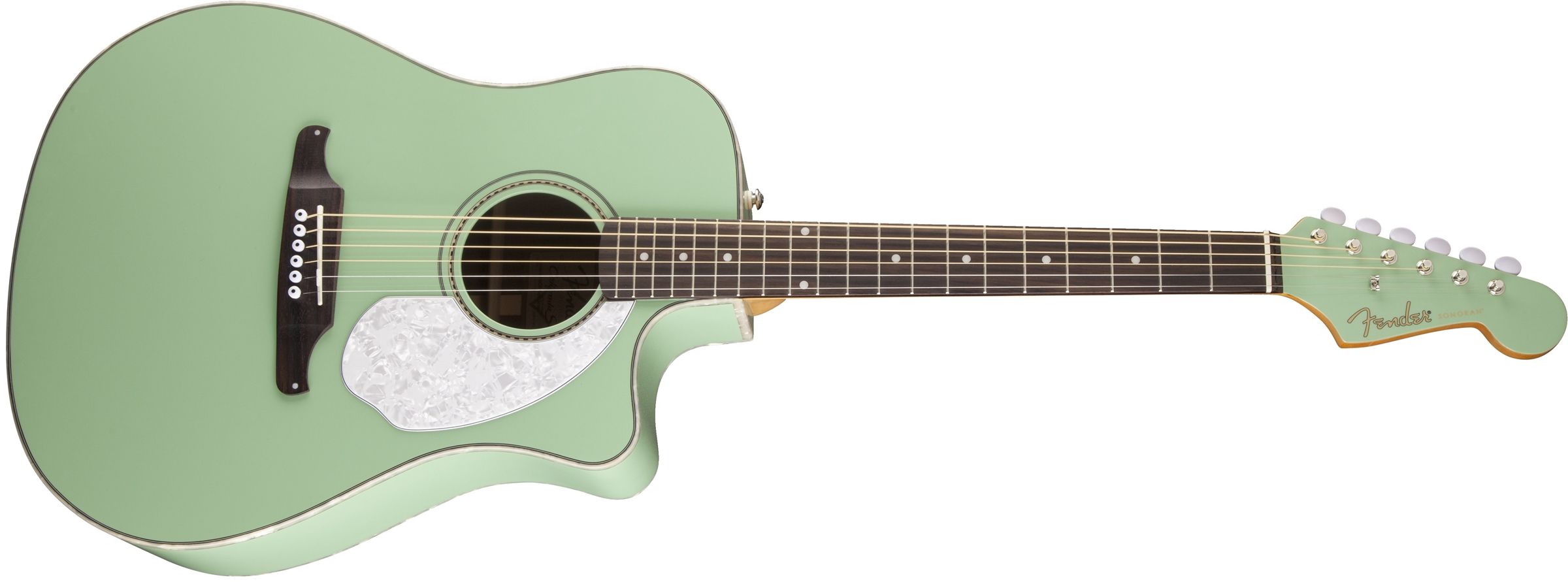 fender sonoran sce surf green with matching headstock. Black Bedroom Furniture Sets. Home Design Ideas
