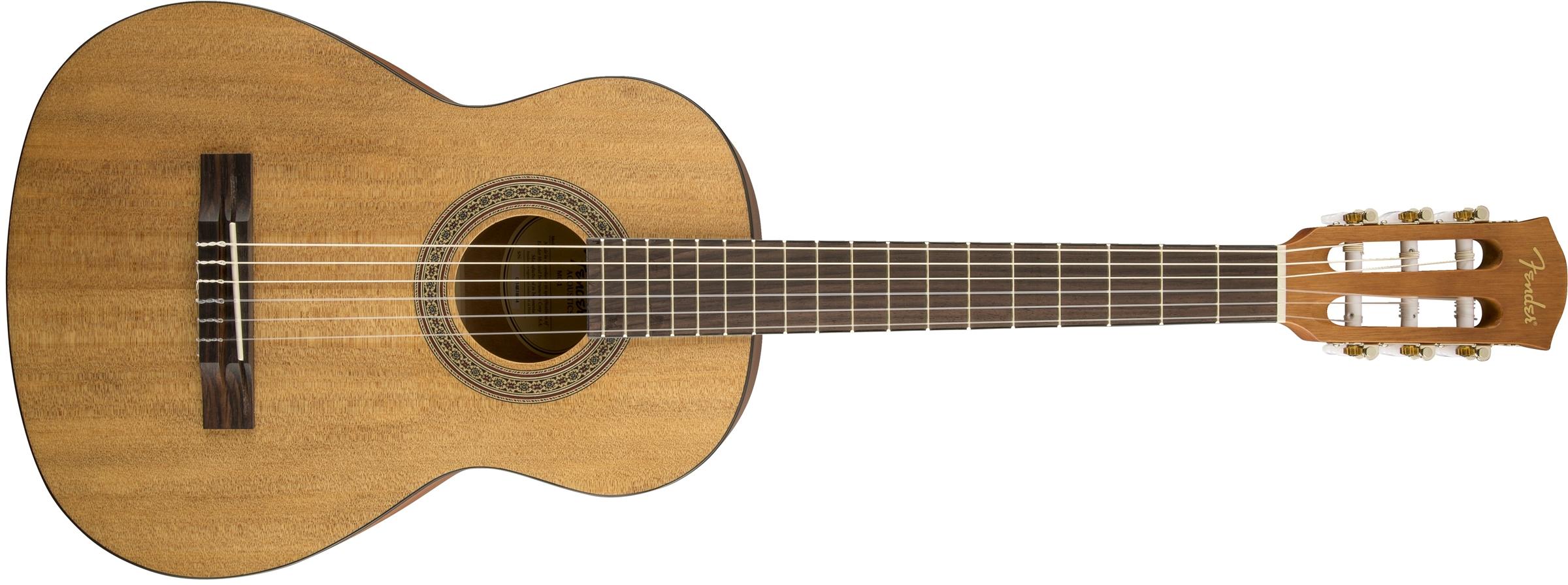 Image of Fender FA-15N Nylon 3/4 Acoustic Guitar with Gig Bag