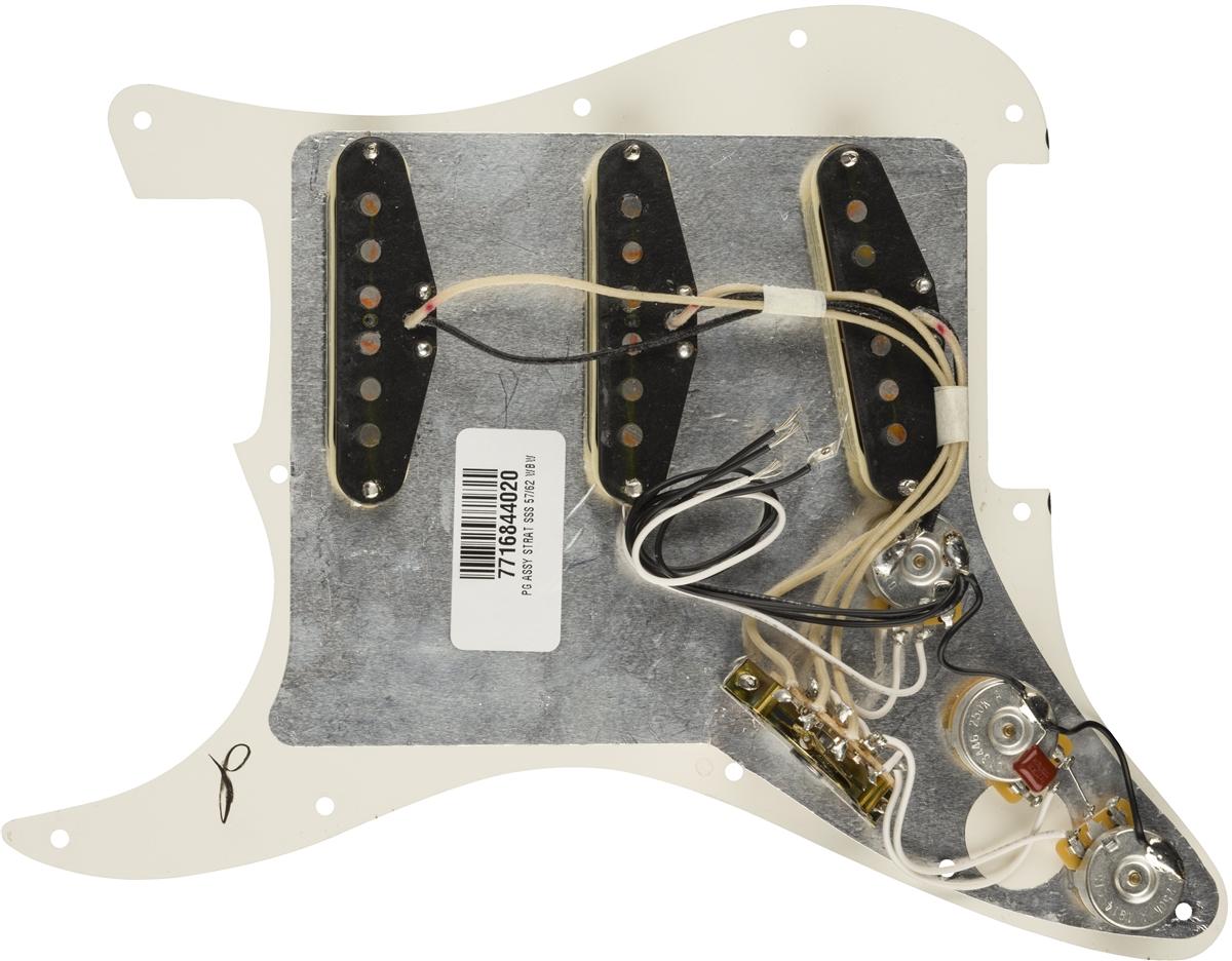 [DVZP_7254]   Pre-Wired Strat® Pickguard, Original '57/'62 SSS | Parts | Fender 62 Stratocaster Wiring Diagram |  | Shop Fender