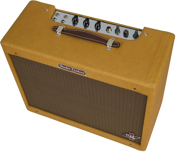Fender Tweed Amp >> The Edge Strat