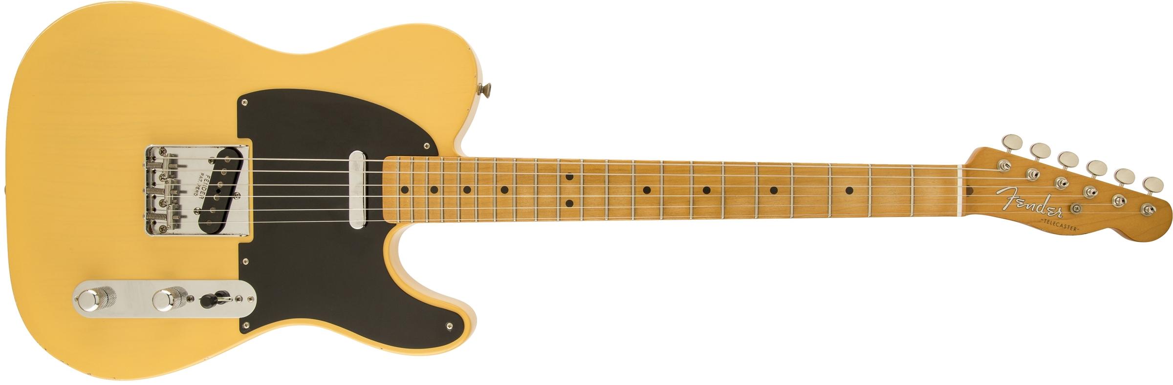 Road Worn® \'50s Telecaster® | Electric Guitars