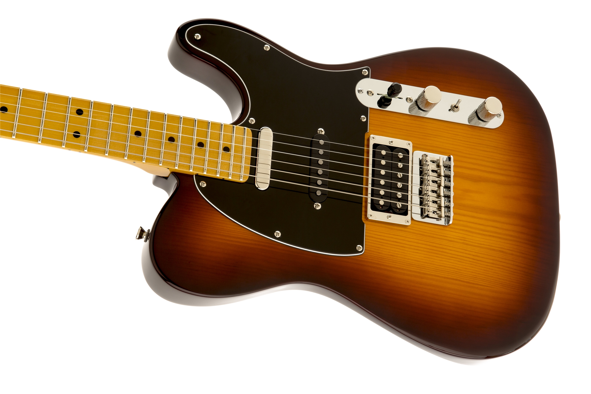 0241102542_gtr_cntbdyleft_001_nr fender modern player telecaster� plus, maple fingerboard, honey burst fender modern player telecaster plus wiring diagram at gsmx.co
