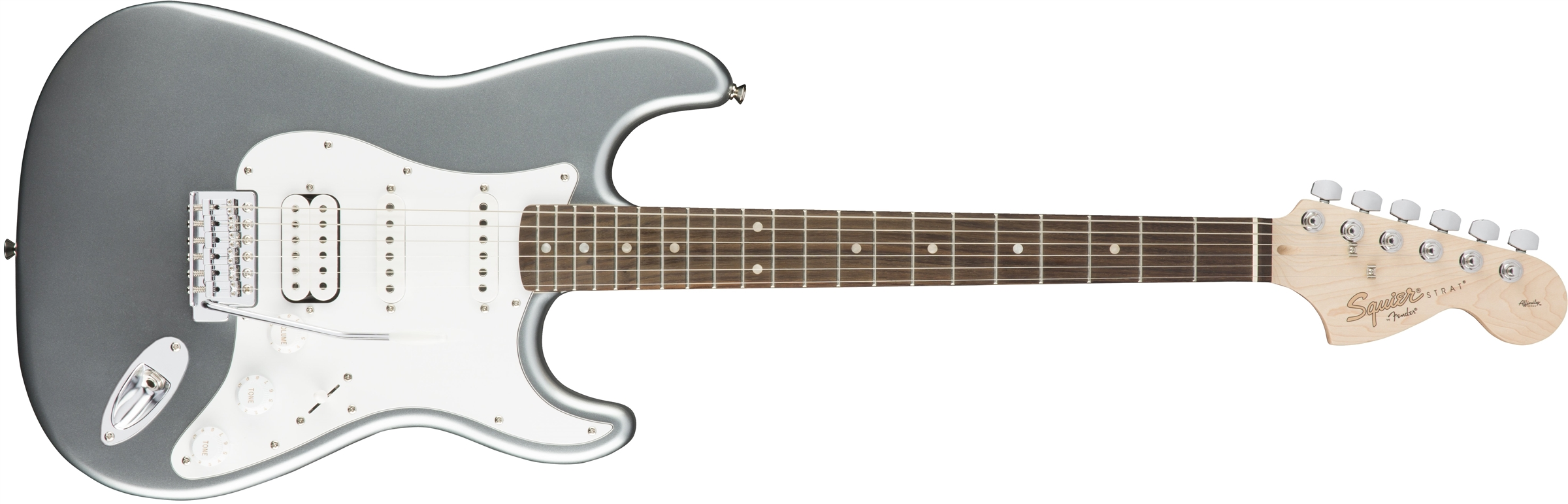 Squier Affinity Series™ Stratocaster® HSS, Slick Silver