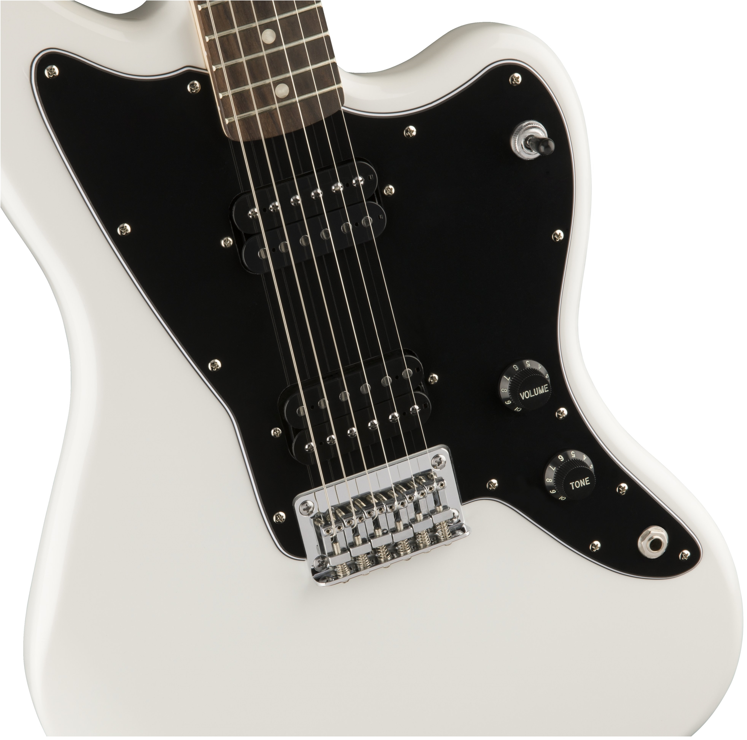 squier affinity series jazzmaster hh rosewood fingerboard arctic white. Black Bedroom Furniture Sets. Home Design Ideas