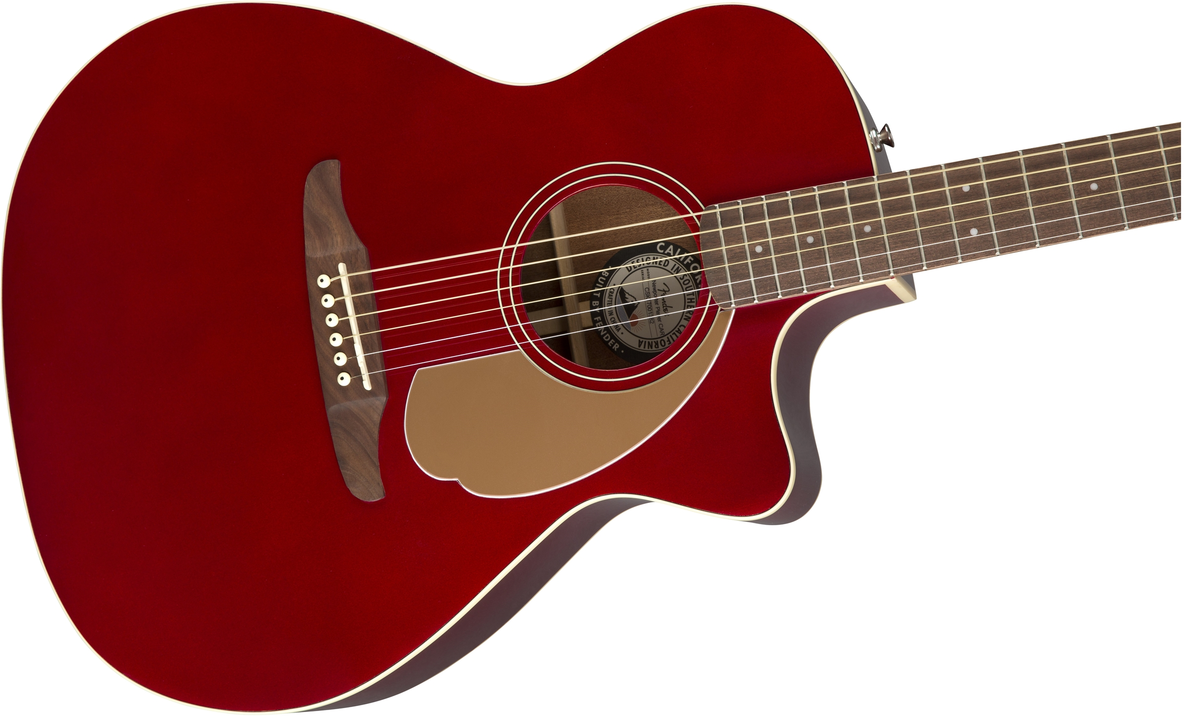Red Metallic 2019 Latest Style Online Sale 50% Acoustic Electric Guitars Fender Redondo Classic Solid Spruce/mahogany Guitar W/ Gigbag