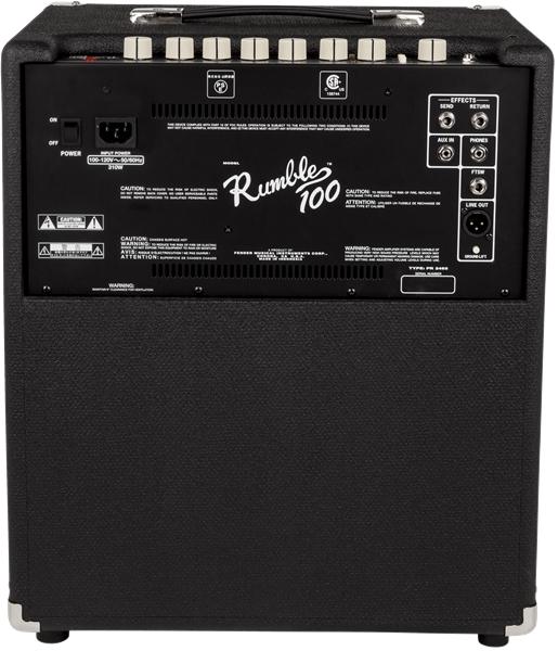 fender bass wiring diagram    fender    rumble    100  v3   120v  black silver fender p bass wiring diagram    fender    rumble    100  v3   120v  black silver