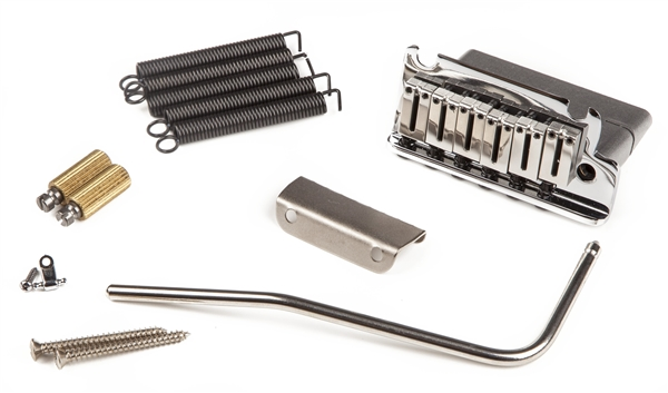 American Deluxe Stratocaster Bridge Assembly 86 Present Parts