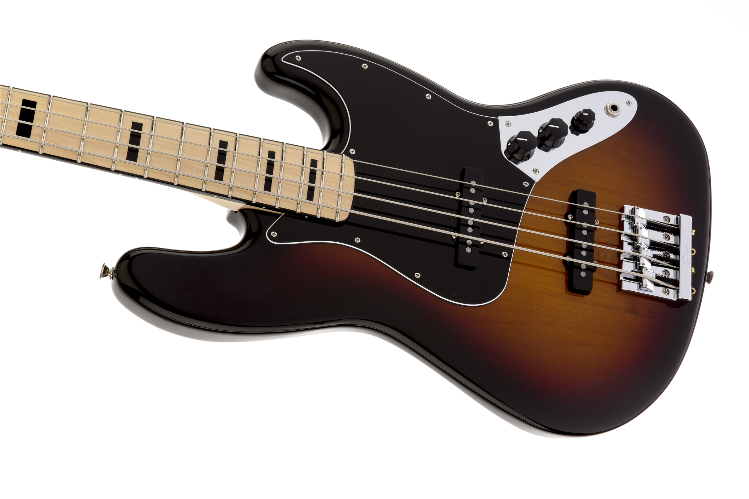 Fender Geddy Lee Jazz Bass®, Maple Fingerboard, 3-Color Sunburst