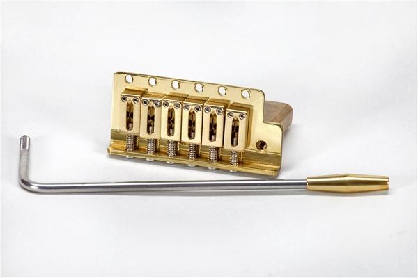 Brass Stratocaster Tremolo Assembly   Brass Stratocaster