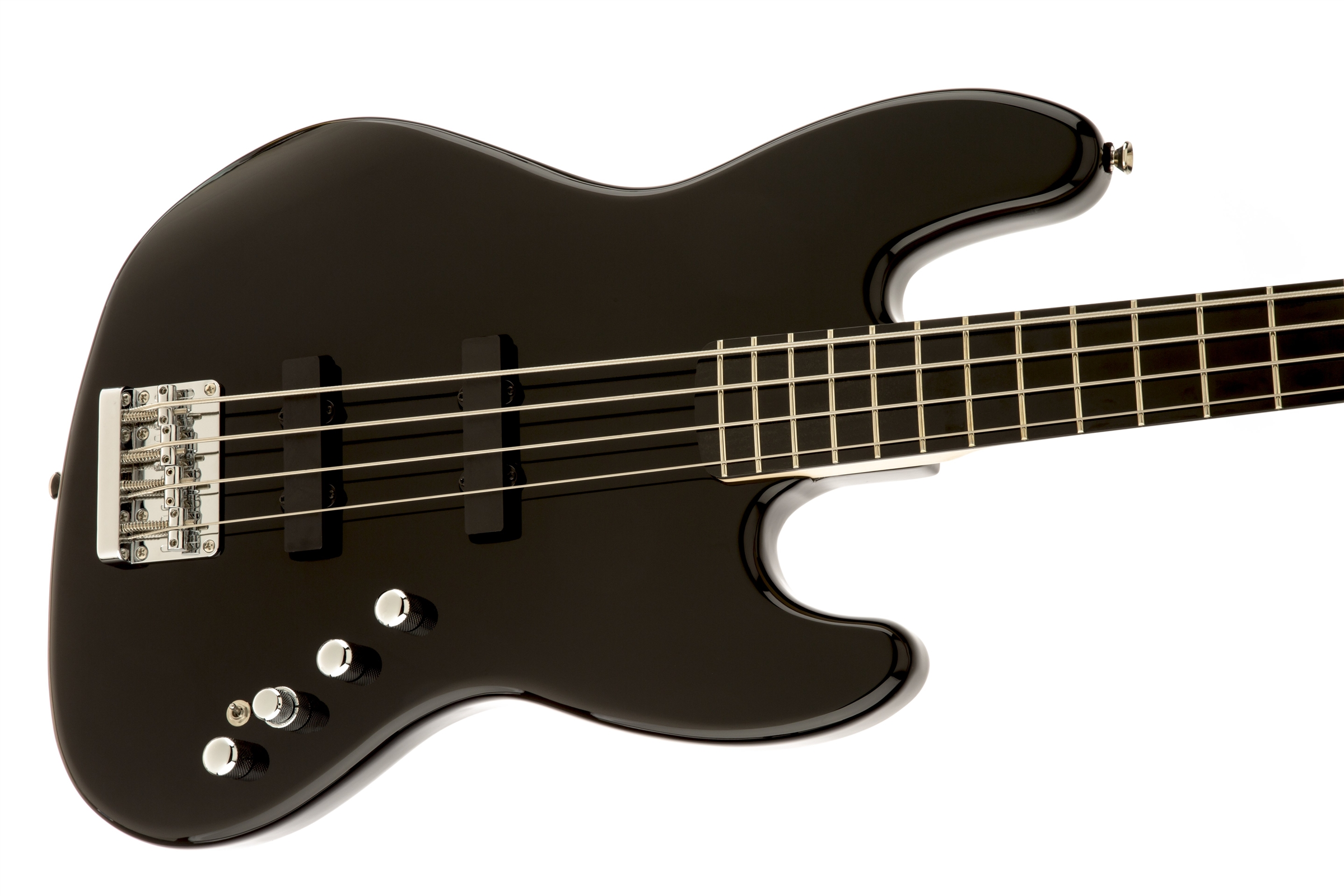 Circuito Jazz Bass Deluxe : Squier deluxe jazz bass iv active string ebonol