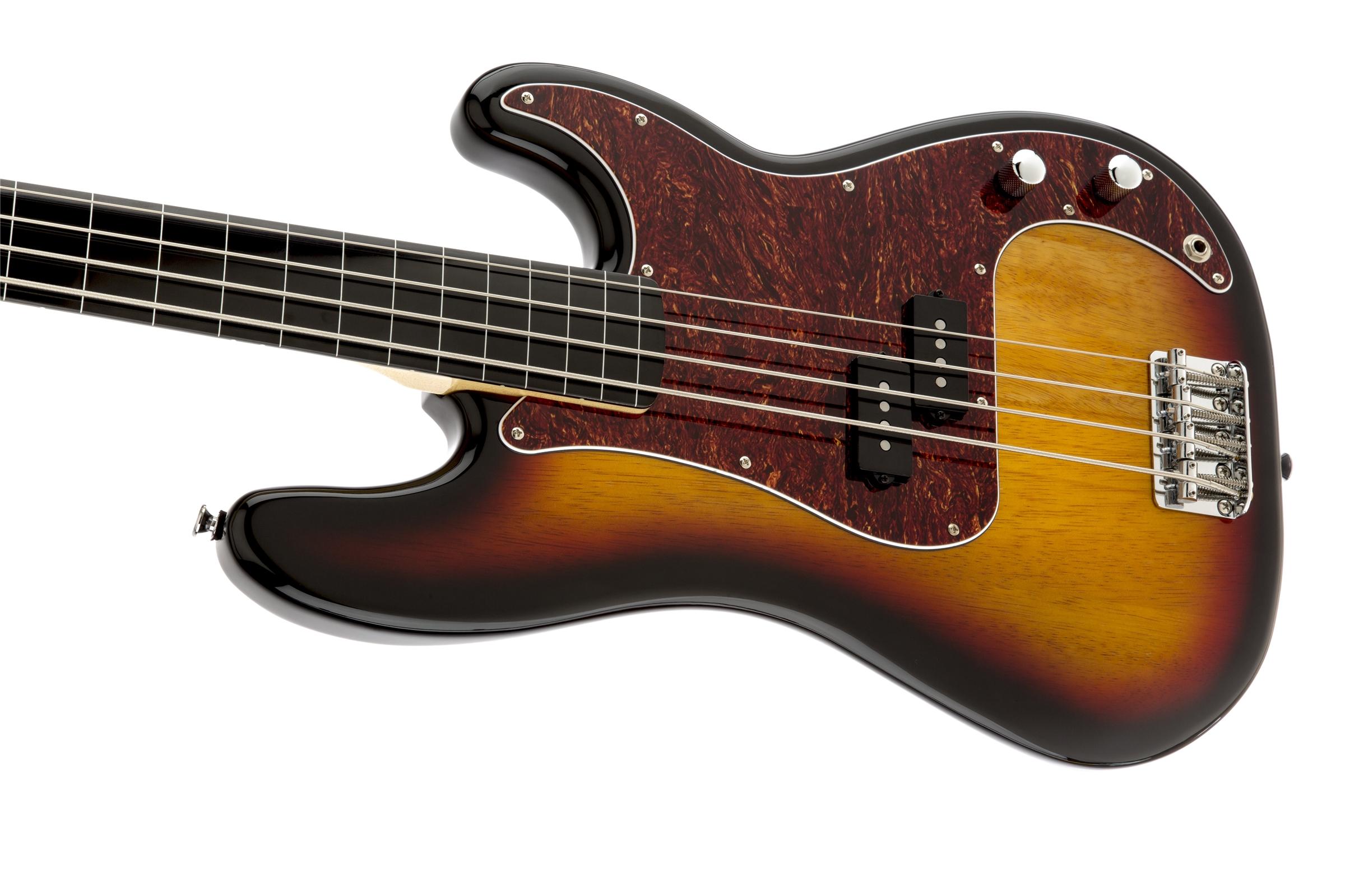 squier vintage modified precision bass fretless squier bass guitars. Black Bedroom Furniture Sets. Home Design Ideas