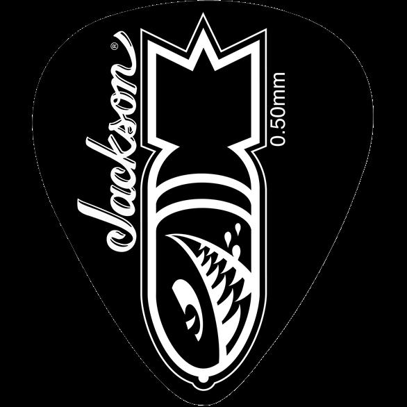 Jackson® 351 Shape Bomb Picks - Black