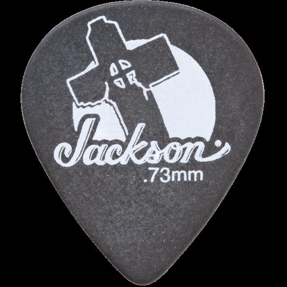 Jackson® 551 Shape Leaning Cross Picks - Black