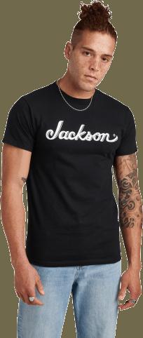 Jackson® Logo Men's T-Shirt - Black