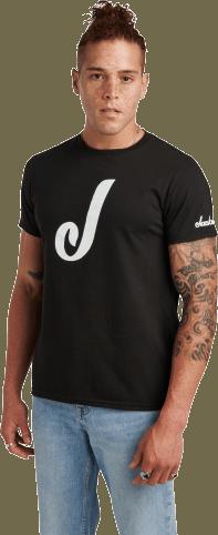 Jackson® J Logo T-Shirt - Black
