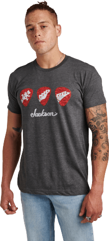 Jackson® Pick T-Shirt - Charcoal
