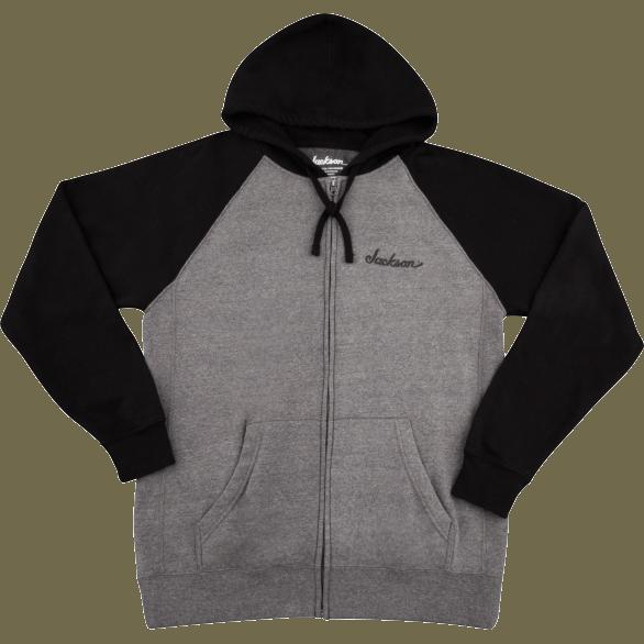 Jackson® Zip Hoodie - Gray