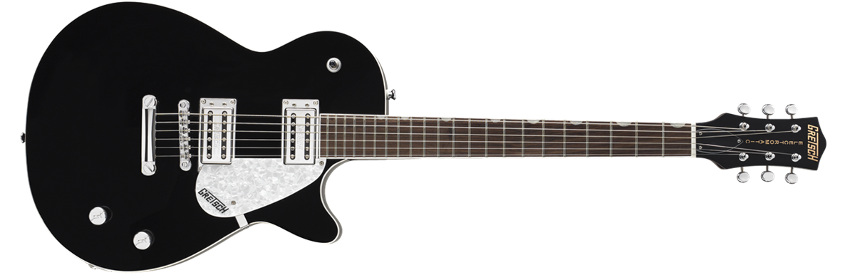 Solid Body :: G5425 Jet Club, Rosewood Fingerboard, Black