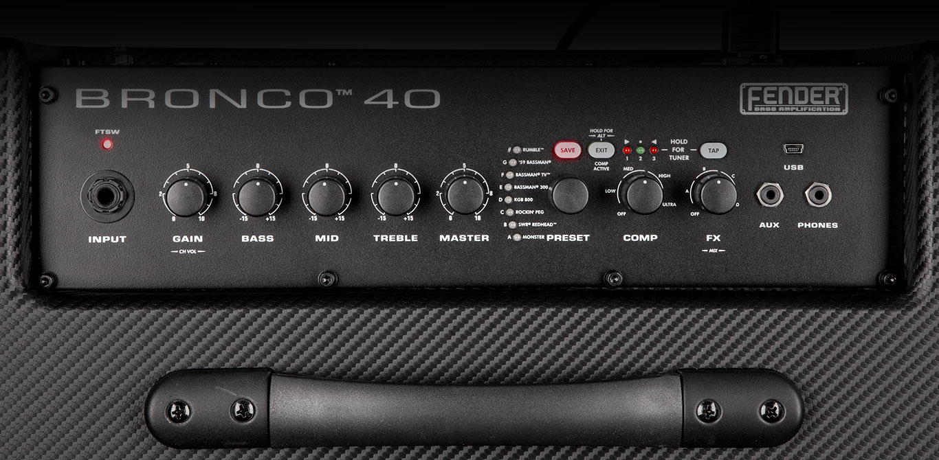 Bronco Amplifiers