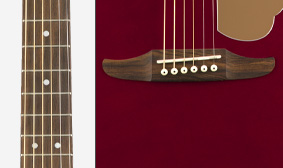 Walnut Fingerboard and Bridge