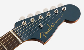 6-in-line Matching Painted Headstock