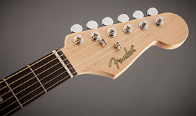 "Maple Strat® neck with ""C"" profile"