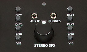 STEREO FIELD EXPANSION (SFX®) TECHNOLOGY