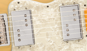 REVOICED WIDE RANGE HUMBUCKING PICKUPS