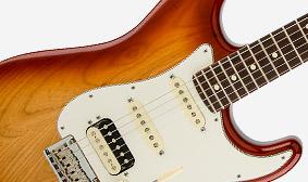 american standard stratocaster hss shawbucker electric guitars. Black Bedroom Furniture Sets. Home Design Ideas